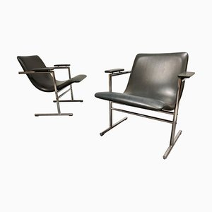 Oslo Lounge Chairs by Rudi Verelst, 1970s, Set of 2