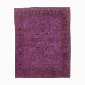Purple Oushak Rug