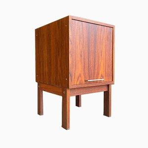Kleiner Nachttisch aus Teak, 1960er