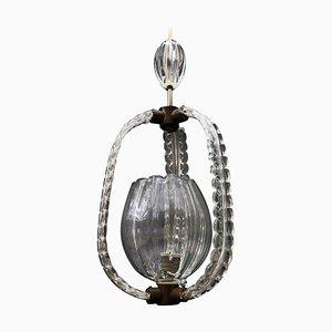 Murano Hanging Lantern, 1940s