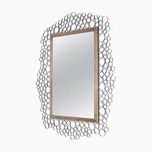 Brutalist Italian Mirror, 1960s