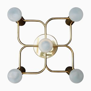 Ceiling or Wall Mounted Chandelier from Leola, 1960s