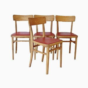 Chapel Chairs, 1950s, Set of 4