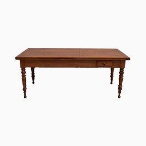 Tavolo Mid-Century allungabile in legno di ciliegio