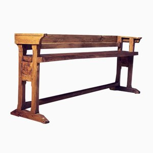 French Oak Pew or Bench Seat