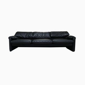 Vintage Maralunga 3-Seater Sofa by Vico Magistretti for Cassina