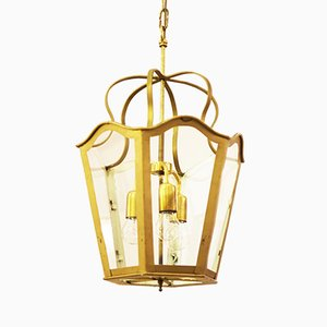 Lámpara vienesa modernista grande, 1965