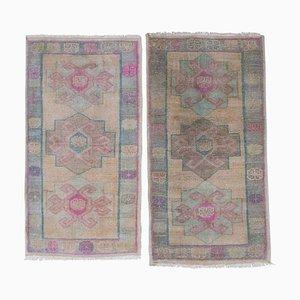 Small Turkish Carpets, 1970s, Set of 2