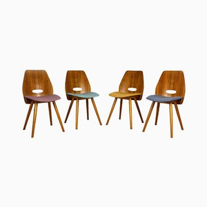 Dining Chairs by František Jirák for Tatra, 1960s, Set of 4