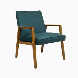 Scandinavian Pine Lounge Chairs, 1960s, Set of 2