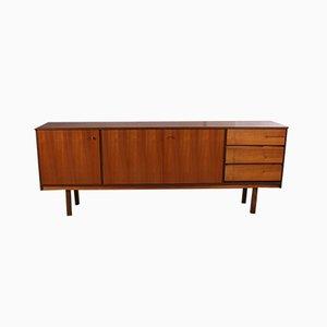Vintage Teak Veneer Sideboard, 1960s