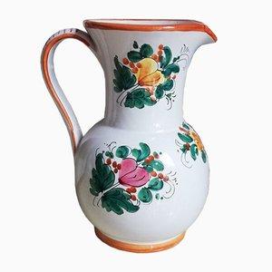 Vintage Ceramic Jug by Deruta