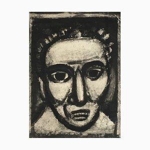Georges Rouault, Satan III, Engraving, 1926
