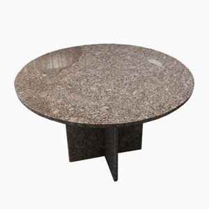 Pink Granite Dining Table, 1970s
