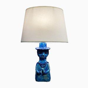 Lampe de Bureau en Céramique par Belarti alias Julien de Covemaeker, Belgique, 1960s