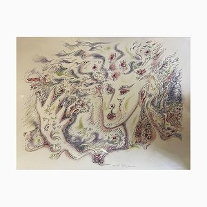 André Masson, Woman II, 1975, Lithograph