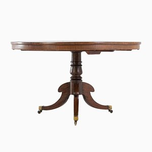 English Regency Rosewood Circular Table, 1800s