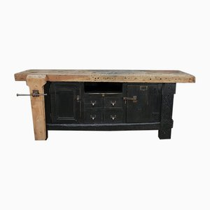 Industrial Carpenter's Bench, 1930s