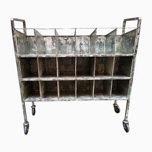 Industrial Shelf Trolley, 1950s