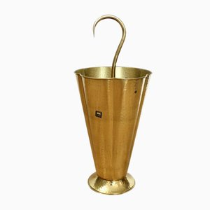 Vintage Brass Umbrella Stand from SKS, 1950s