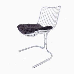 Chaises de Salon Radiofreccia en Chrome par Gastone Rinaldi pour Rima, 1970s, Set de 4