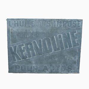 Insegna Kervoline, anni '50