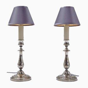 Antike französische Tischlampen von Christofle, 1905, 2er Set
