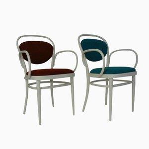 Chaises 215 P Vintage de Thonet, Set de 2