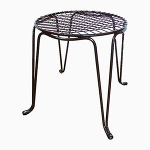 Vintage Wire Mesh Stool, 1960s