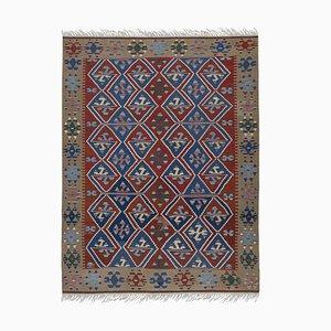 Vintage Oversized Turkish Kilim Carpet, 1970s