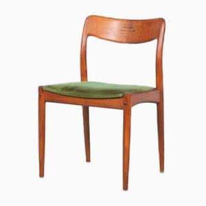 Chaises de Salon en Teck par Johannes Andersen pour Uldum Møbelfabrik, Danemark, 1960s, Set de 4
