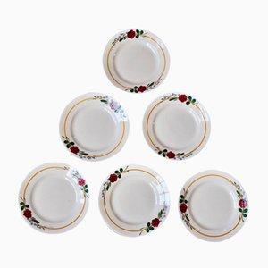 Bohemian Plates, 1950s, Set of 12