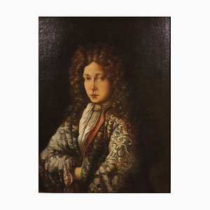 Óleo sobre lienzo, siglo XVII refinado, noble, años 60