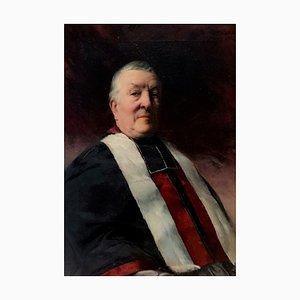 Bildnis eines Richters des Hofes, 1902, Öl auf Leinwand