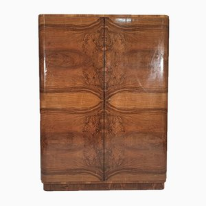 Vintage Walnut Wardrobe, 1960s