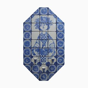 Octagonal Candle Holder Wall Plaque by Bjorn Wiinblad