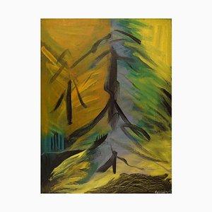 Ivy Lysdal, B 1937, Acrylic on Canvas, 2003