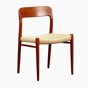 Model No. 75 Chair by Niels Møller, 1954