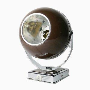 British Eyeball Lamp in Brown, 1970s