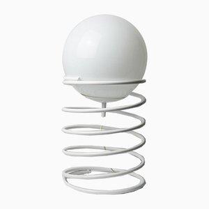 Vintage White Spiral Dutch Lamp from Woja, 1970s