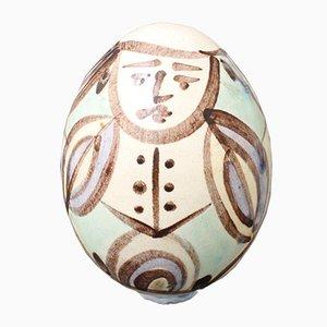 Ceramic Easter Egg from Atelier Madoura, 1960s