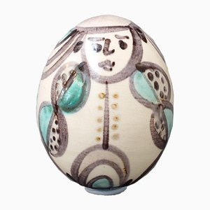 Keramik Osterei von Atelier Madoura, 1960er