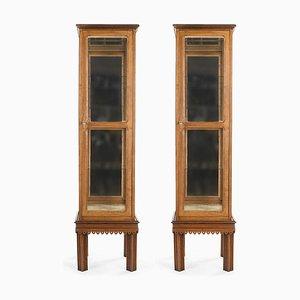 Holzfenster mit Innenspiegel, 2er Set