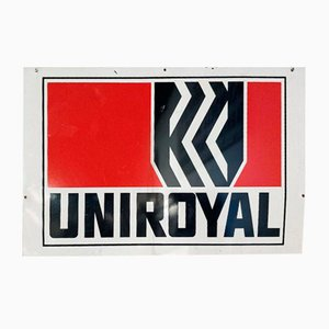 Enamelled Plaque Uniroyal