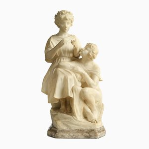 Marble Sculpture of Couple