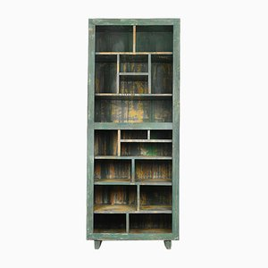 Patinated Wooden Shelf