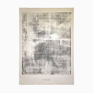 Jean Dubuffet, The Lightweight Jacke von Land, Lithographie, 1959
