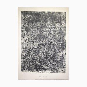Jean Dubuffet, Tablecloth Léopardée From Soil, Earth, Lithograph, 1959