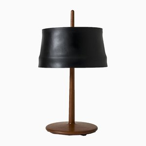 Teak Table Lamp by Alf Svensson for Bergboms