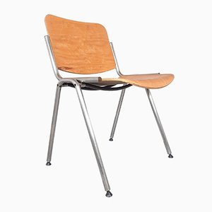 Desk Chair from Stol Kamnik in Plywood and Metal, 1980s, Yugoslavia